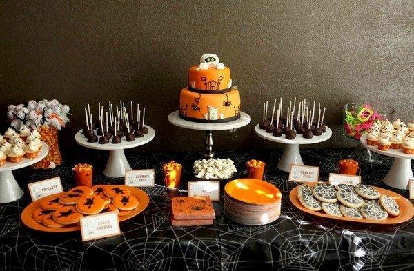 Nicht Scary Halloween Kuchen Dekoration Halloween Party Behandelt