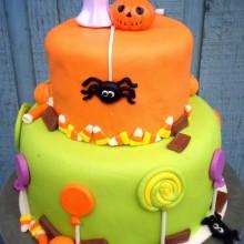 Niedlich Nicht scary Halloween-Kuchen-Dekoration halloween-party für Kinder-Ideen
