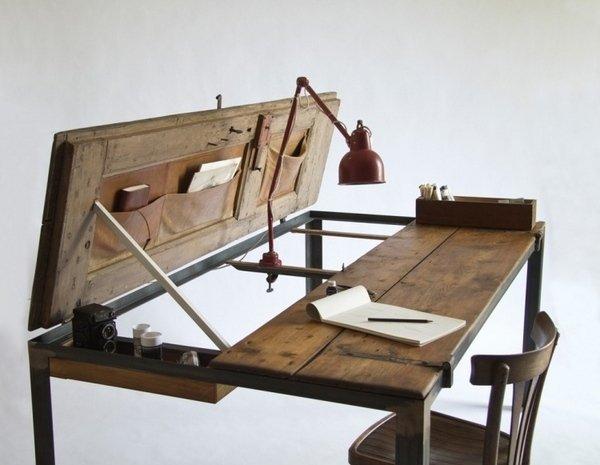 Paletten Schreibtisch Aus Holz DIY Palette Mbel upcycling