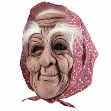 Realistische Halloween-Masken Ideen alte Oma latex halloween-Maske