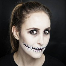 Schnelles Halloween make-up Ideen, DIY-scary halloween-make-up