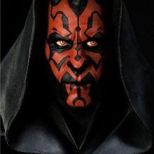 Silikon Halloween-Masken realistische halloween-Masken Star Wars Darth Maul