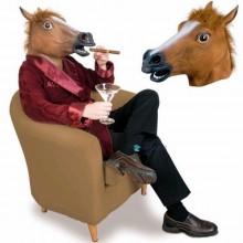 Silikon-Halloween-Masken realistische halloween-Masken Tiermaske Pferd Maske