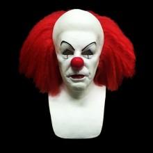 Silikon Halloween-Masken realistische halloween-Masken vollen Kopf clownmask