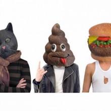 Silikon Halloween-realistische Masken halloween Masken lustige halloween Masken