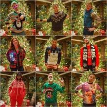 Ugly Christmas sweater Ideen prominenten DIY-Ideen