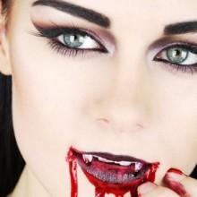 Vampir-make-up DIY fake-Blut-Vampir-Zähne