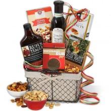 Weihnachts-Geschenk-Ideen gourmet-Korb Ideen Nüsse Gewürze