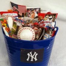 Weihnachts-Geschenk-Korb Ideen baseball-Thema New York yankee fan-Warenkorb