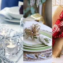 best Christmas table decoration ideas color themes tips