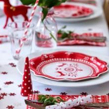 beste Weihnachts-Tisch-Deko-Ideen awesome rot-weiß-Weihnachten Tabelle-Dekor-Ideen