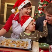 besten Weihnachts-Foto-Ideen Familie Backen zu Weihnachten