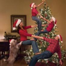 besten Weihnachts-Foto-Ideen Familienfotos christmas card ideas
