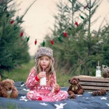 besten Weihnachts-Foto-Ideen, praktische Tipps, Weihnachtsbaum dekorieren