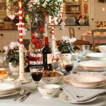 besten Weihnachts Tischdekoration Sekt Gläser Weihnachten giftpine Kegel Perlen