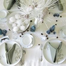 besten Weihnachts-Tischdekoration modern-eleganten gold-Dekor-Kerzen-Kranz Herzstück