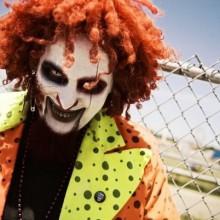 böse clown make-up-Kostüm-Ideen Halloweenmakeup Ideen DIY