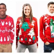 cheesy christmas Sweater Weihnachten Spaß Kleidung