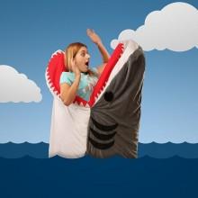 chumbuddy Schlafsack shark-Tüte lustige Ideen