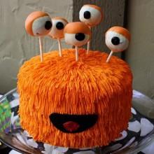 cool nicht scary Halloween-Kuchen-Dekoration cake pops Dekoration