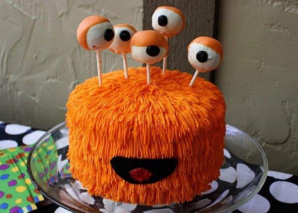 Nicht Scary Halloween Kuchen Dekoration Spass Kuchen Fur Kinder Und