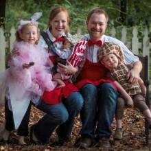 cute Halloween-Kostüme für Familie, baby, Tiere, Kinder