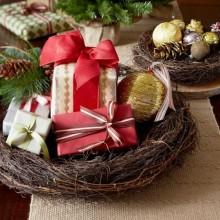 diy-Weihnachten Tabelle-Dekor Herzstück Ideen Weihnachtsgeschenke christbaumschmuck