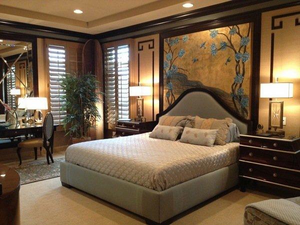 Einer Asiatischen Themed Schlafzimmer U2013 Möbel Und Deko Ideen