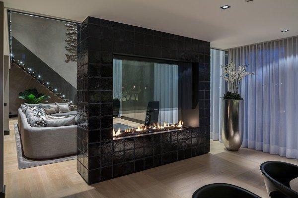 design : wohnzimmer design mit kamin ~ inspirierende bilder von ... - Wohnzimmer Luxus Design