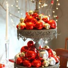fabelhafte Tischdekoration für die Weihnachts-Tabelle Herzstück Ideen DIY table decor