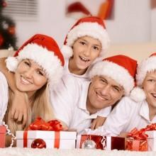faszinierende Weihnachts-Foto-Ideen baby santa Kostüm