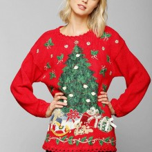 hässlich Weihnachten Pullover für Frauen, Spaß, Weihnachtsgeschenke