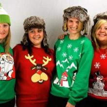 hässlich Weihnachten Pullover für Frauen Weihnachts-Spaß-party-Thema-Ideen