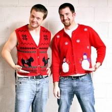 hässlich Weihnachten Pullover für Männer, lustige Weihnachts-Ideen