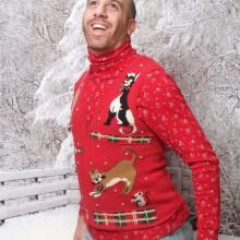 hässliche Weihnachts-Pullover-Ideen Weihnachts-party Thema Ideen