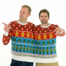 hässliche Weihnachts-Pullover für 2 Personen lustig Weihnachten Geschenk-Ideen