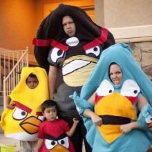 halloween-Kostüme beste Familie Kostüme für halloween angry birds