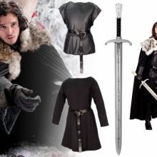 halloween-Kostüme game of thrones halloween-Kostüme Jon Snow Kostüm