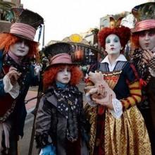 halloween-Kostüme halloween-Kostüme für Familie Alice im Wunderland