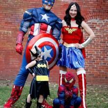 halloween-Kostüme halloween-Kostüme für Familien mit Kindern