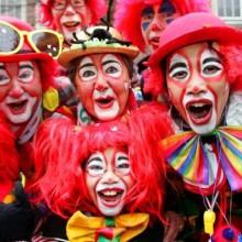 halloween-Kostüme halloween-Kostüme für Gruppen-Kostüme für Familie clown