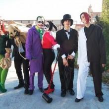 halloween-Kostüme halloween-Kostüme für Gruppen batmas joker