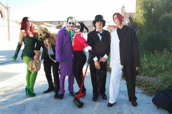 Halloween Kostume Halloween Kostume Fur Gruppen Batmas Joker