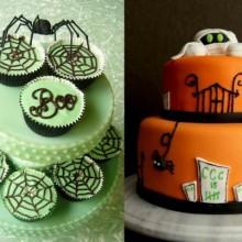 halloween-Kuchen-Ideen halloween party Ideen-Kuchen-Deko-Ideen