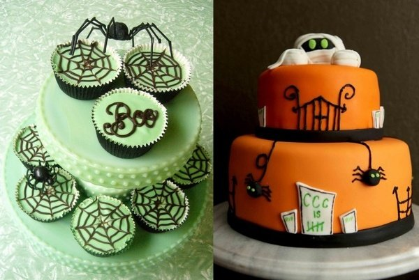 Halloween kuchen ideen halloween party ideen kuchen deko for Kuchen tapeten ideen