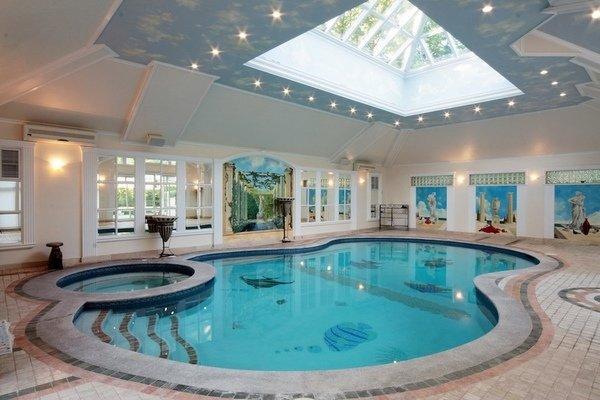 Inspirierend Innenpool Ideen Oberlicht Schwimmbad Dekor