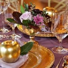 inspirierende Weihnachts-Tisch-Deko-Ideen festliche Tischdekorationen rot weiß
