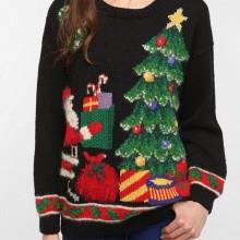lustig Weihnachten Geschenk-Ideen, hässliche Pullover DIY-Ideen