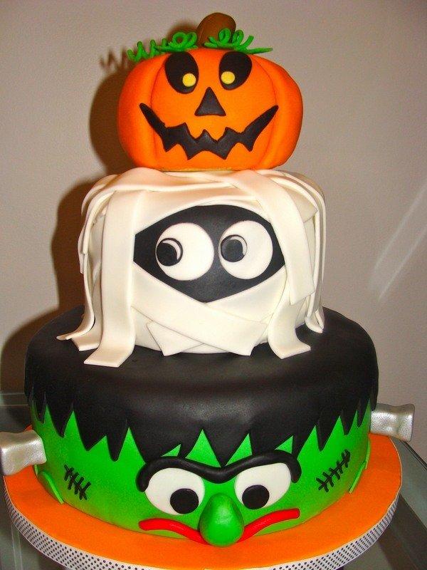 Lustigen Halloween Kuchen Dekoration Mumie Kurbis Kunstop De