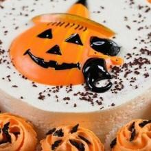 lustigen halloween-Kuchen-Ideen Tortendekorationen cupcakes, Orangen-Zuckerguss